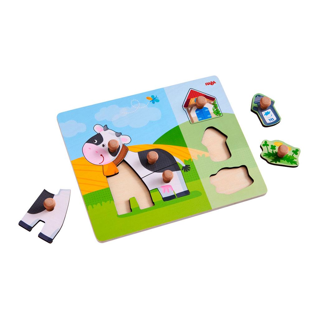 Puzzle Infantil La Vaca Anabella - 1