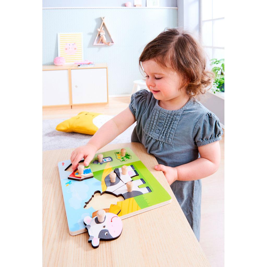 Puzzle Infantil La Vaca Anabella - 2