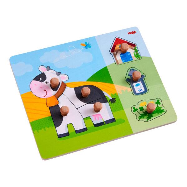 Puzzle Infantil La Vaca Anabella