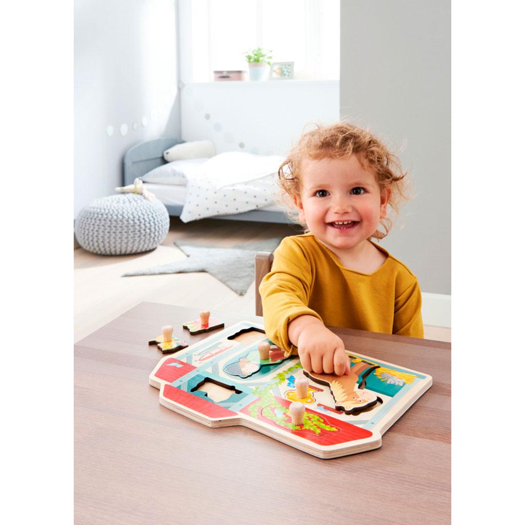 Puzzle Infantil La Cuadra - 2