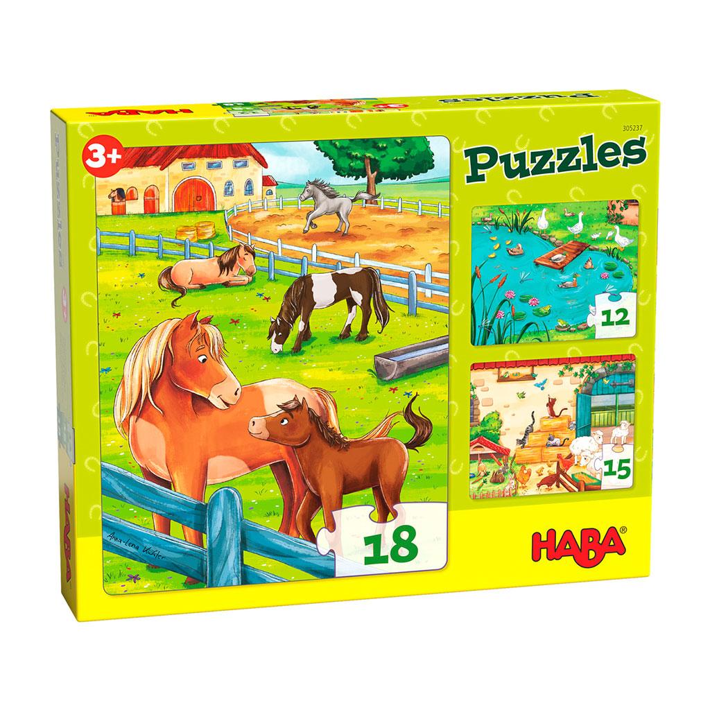 Puzzles Animales de Granja