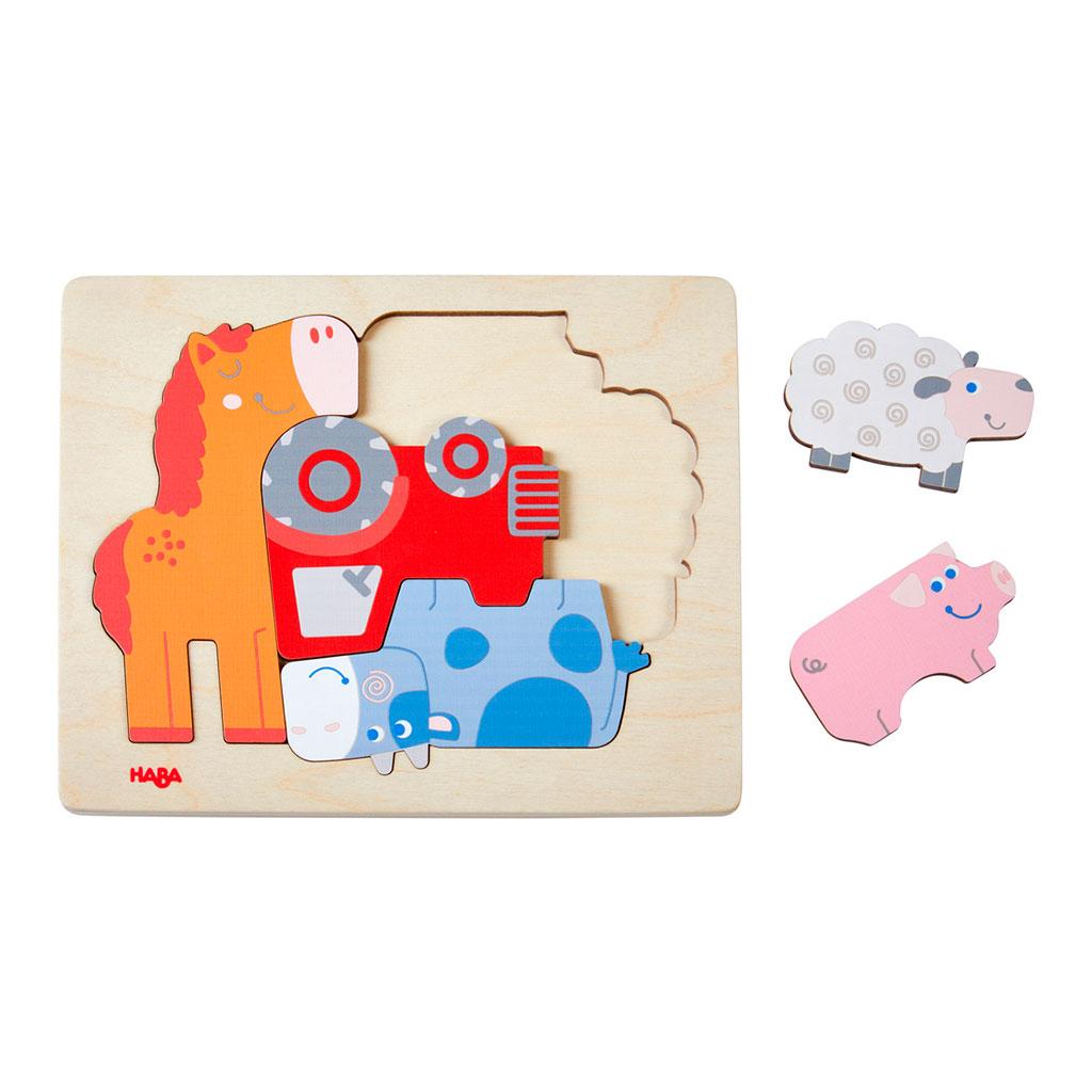 Puzzle Infantil Jaleo de Animales