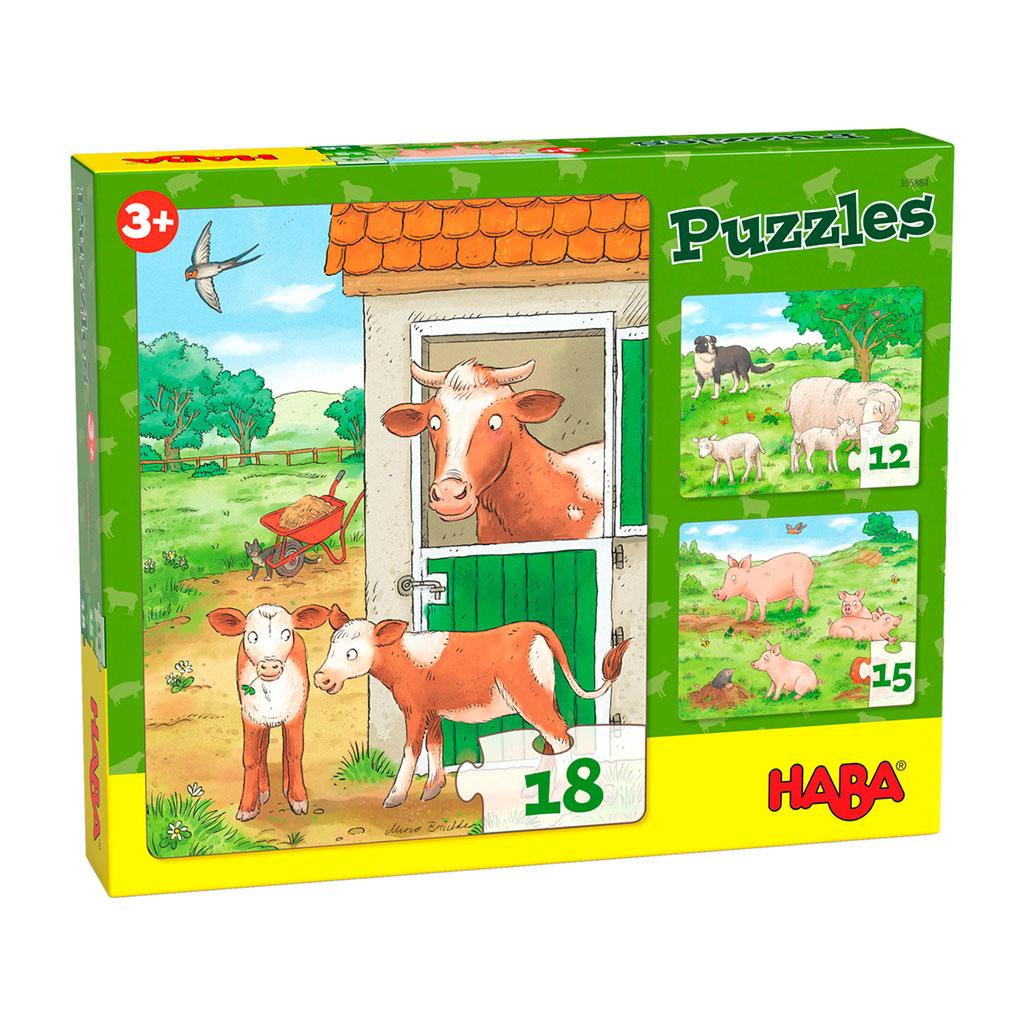 Puzzles Crías de Animales de Granja