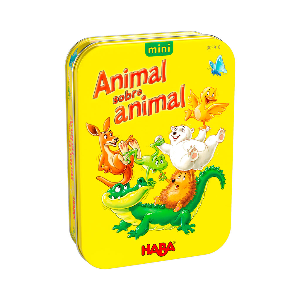 Juego de Mesa Animal sobre Animal