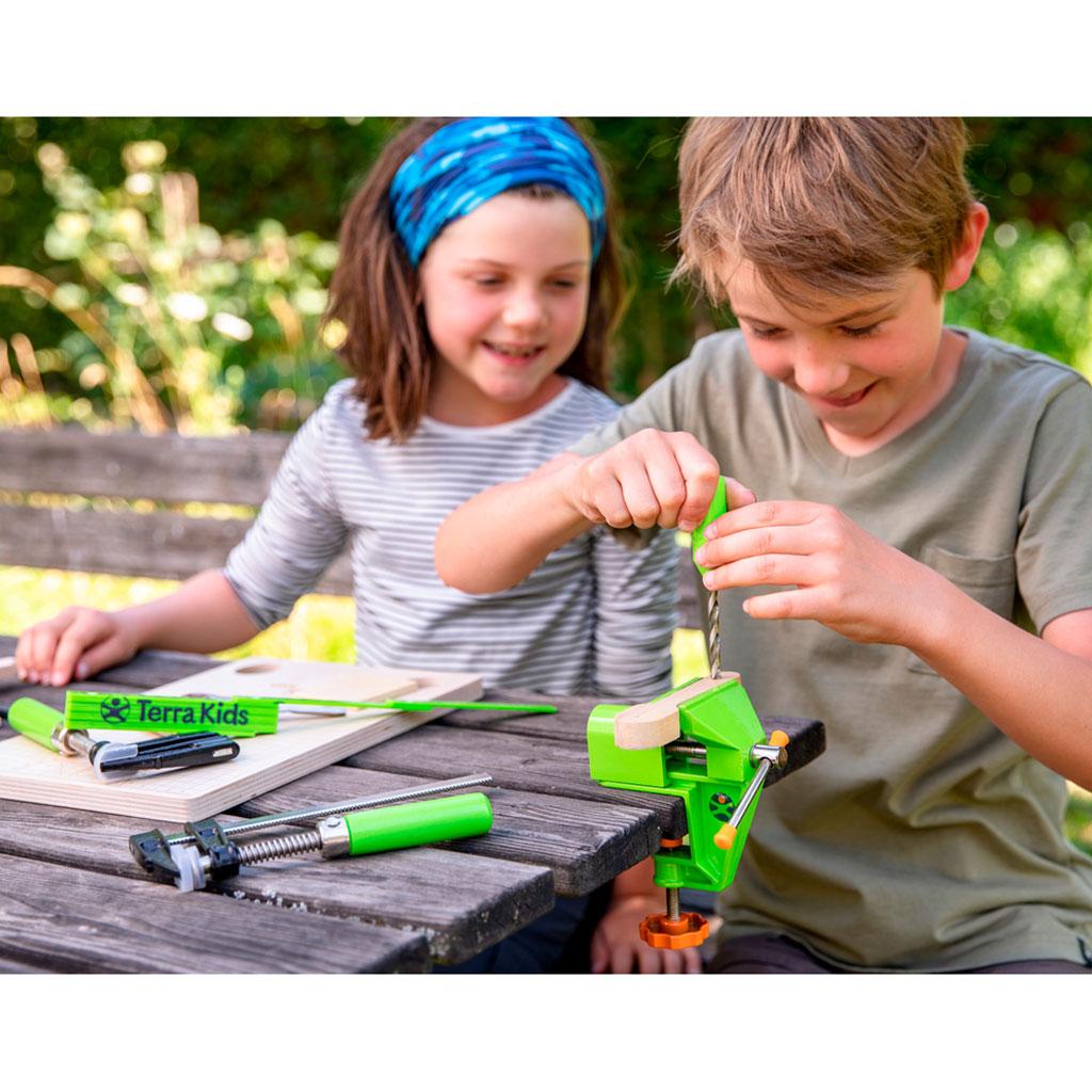 Torno de Banco y Tornillos de Apriete - Terra Kids - 4
