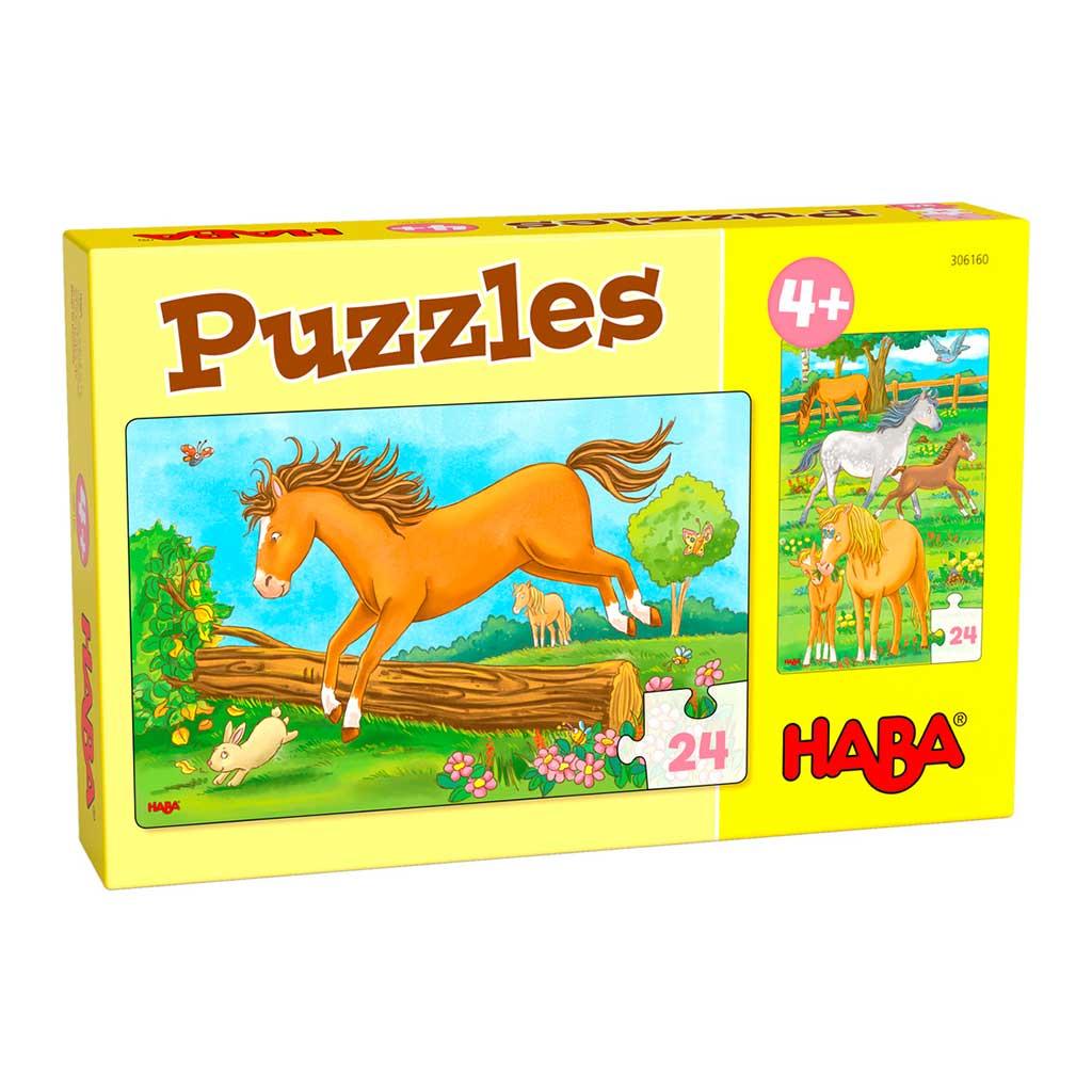 Puzzles Trabajo en La Granja