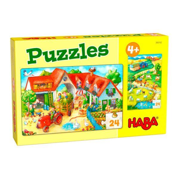 Puzzles Caballos en el Campo