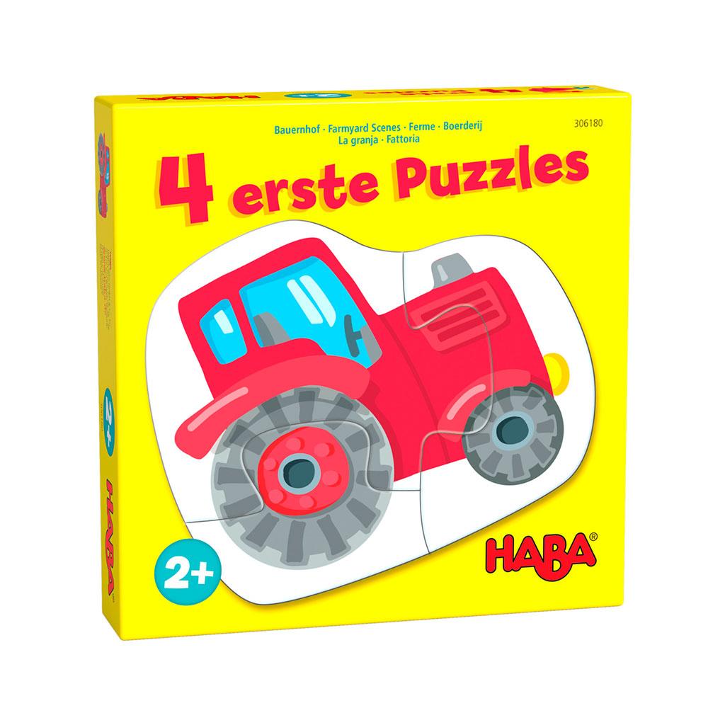 Mis Cuatro Primeros Puzzles La Granja