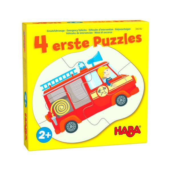 Mis Cuatro Primeros Puzzles Vehículos de Emergencia
