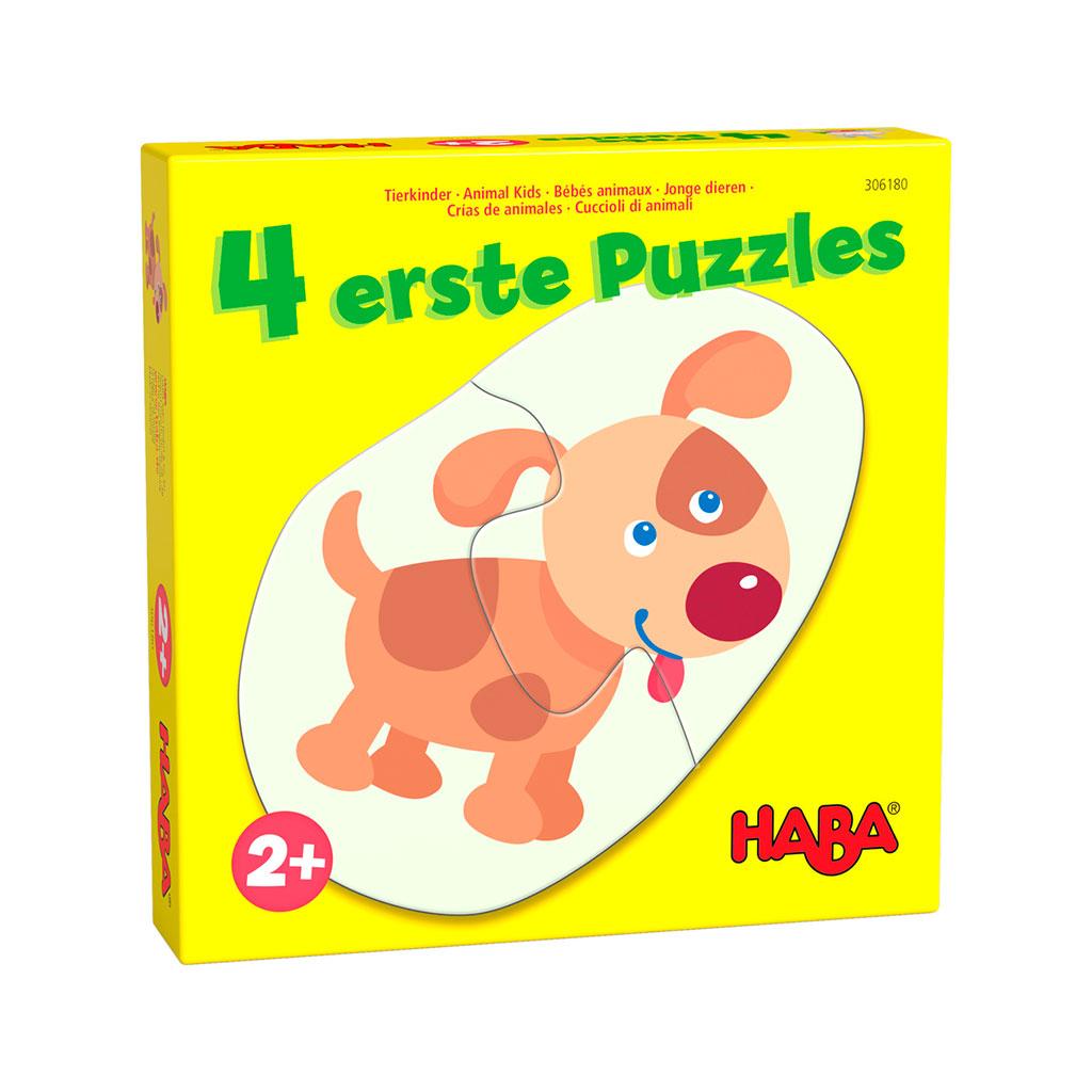 Mis Cuatro Primeros Puzzles Crías de Animales