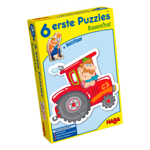 Mis Seis Primeros Puzzles La Granja