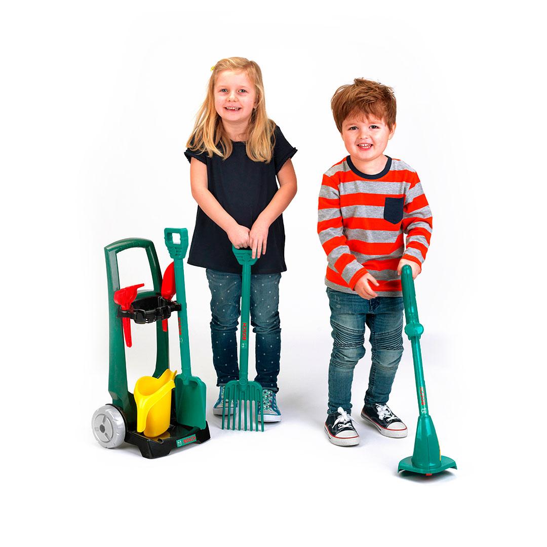 Carro con Set de Jardinería Infantil Bosch - 2