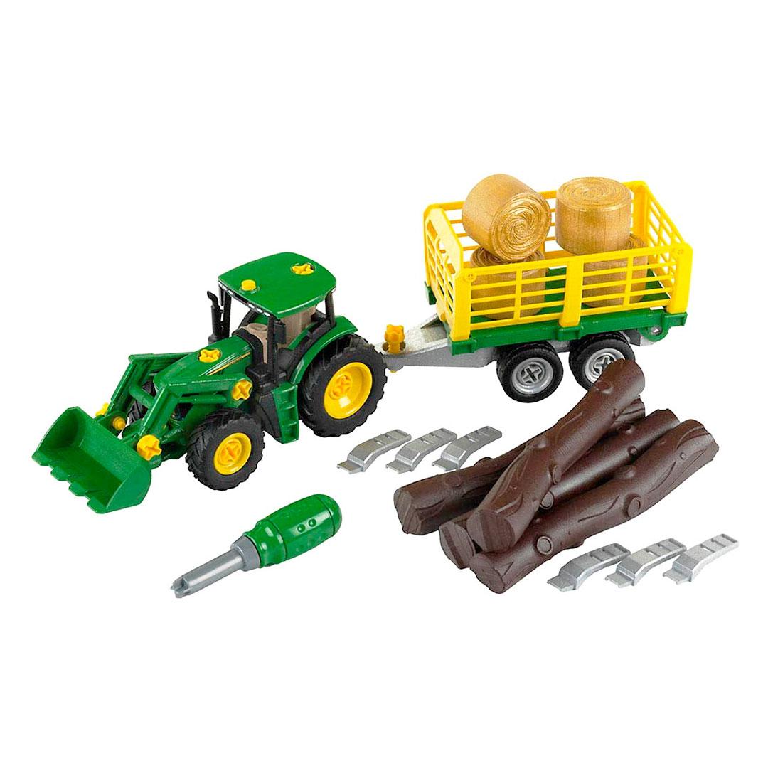 Tractor Desmontable John Deere con Remolque - 1