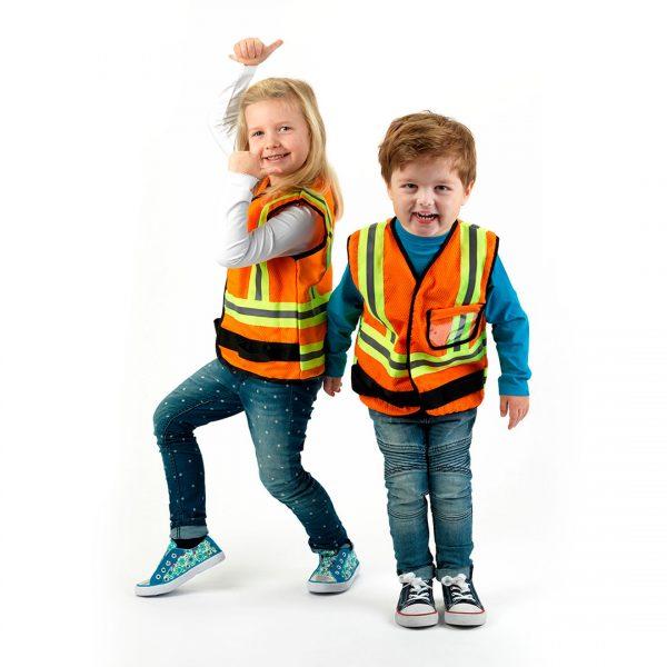 Chaleco Infantil de Obrero - 2