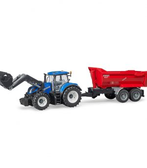 Tractor New Holland T7.315 con pala frontal – Ref. Bruder 3121 - 1