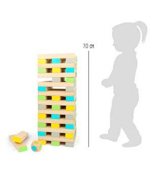 Jenga Gigante de Madera - Juegos de Madera para niños